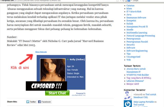 screenshot_iklan_di_wordpress