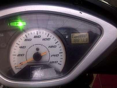Berangkat, speedometer menunjuk angka 18873,3