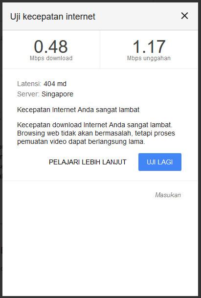 google uji kantor